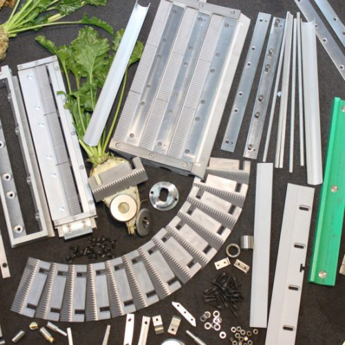 Slicing machines and spare parts